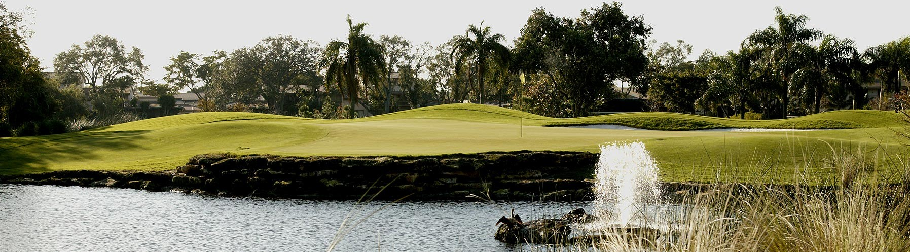 Hole 14 at the best golf course in fort lauderdale