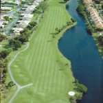 Hole 12 Aerial - Best golf course in Florida