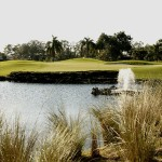 Waterfall golf course, meticulous course conditions